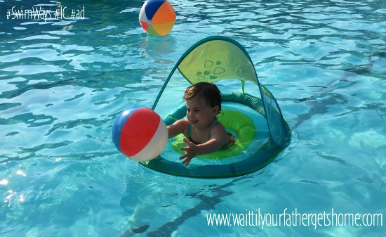 Fun in the Sun with SwimWays | Baby Spring Float