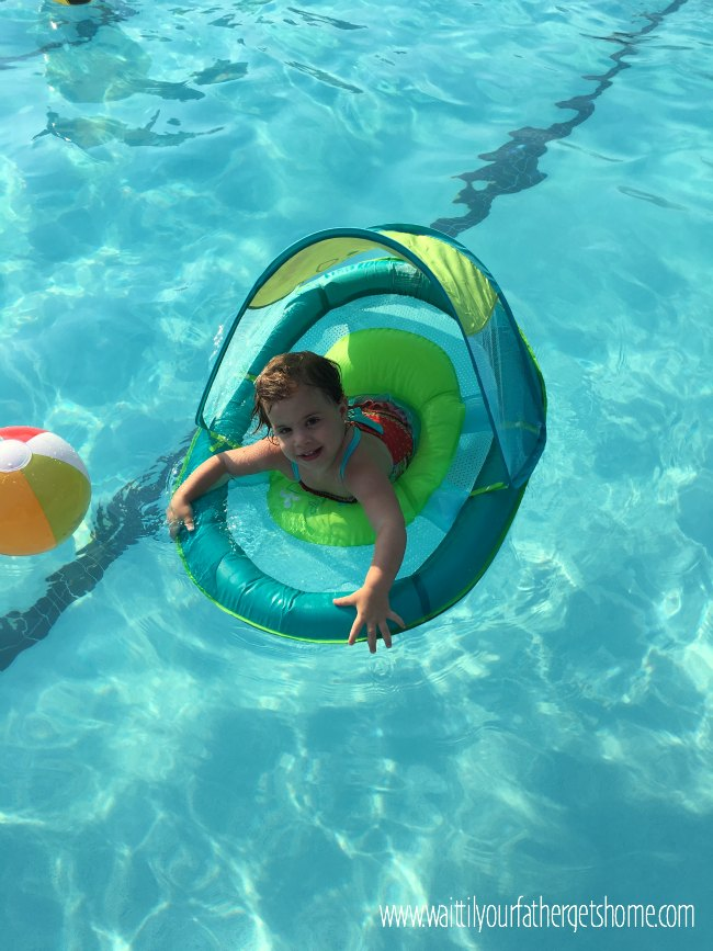 Fun In The Sun With Swimways Baby Spring Float Wait