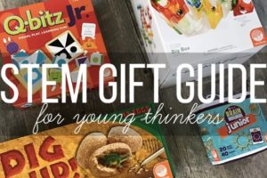 STEM Gift Guide for little thinkers from MindWare and Wait 'Til Your Father Gets Home #STEM #STEMGIFTS #STEMforKids #MindWare #EducationalToys #EducationalGifts #Homeschool #sp