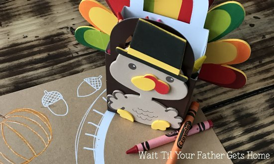Turkey Crayon Holders for Thanksgiving | Oriental Trading