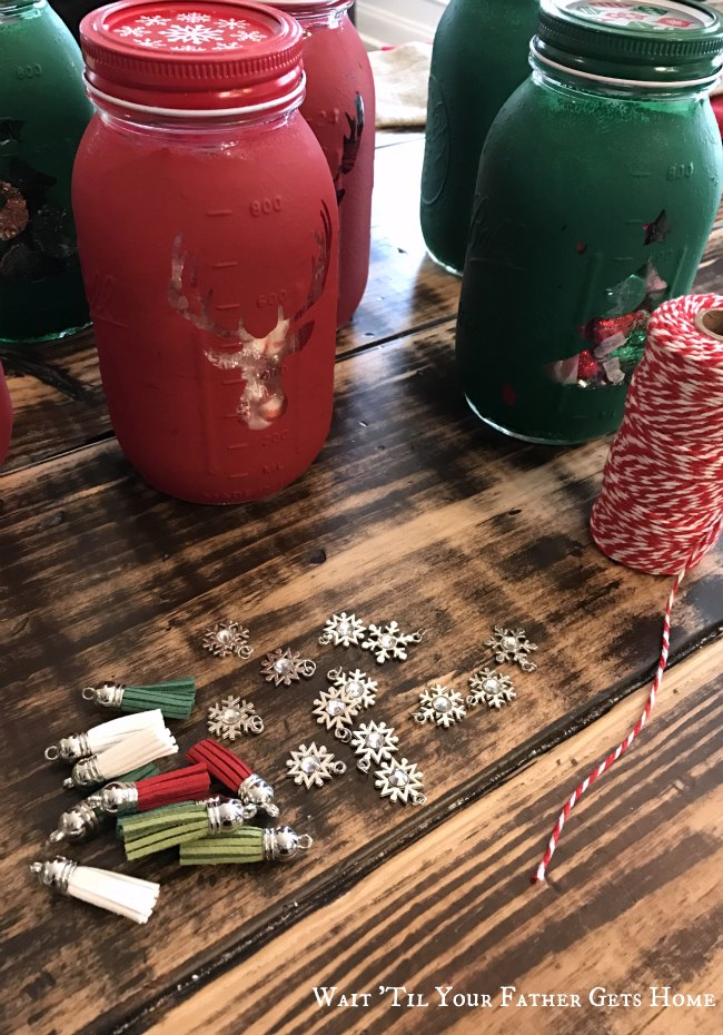 Mason Jar Christmas Candy Gift Idea Wait Til Your Father Gets Home