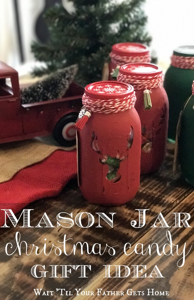 mason jar christmas candy gift idea via wait til your father gets home oriental
