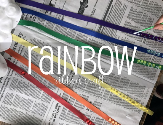 Rainbow Ribbon Craft | The Ribbon Retreat