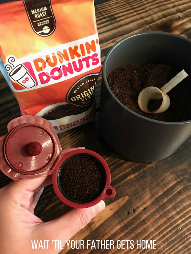 ABC Dunkin' Donuts Blended Coffee drink featuring Dunkin' Donuts coffee from @Publix by Wait 'Til Your Father Gets Home #pmedia #ad #DunkinDonutsPublix
