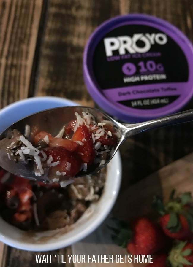 ProYo High Protein Low Fat Ice Creams from your local @Krogerco or Kroger Banner Store are the PERFECT guilt-free sweet treat! See how @WaitTYFGHome enjoys her @ProYoTreats after a gym workout. #ProYoHighProteinIceCream #PMedia #Ad