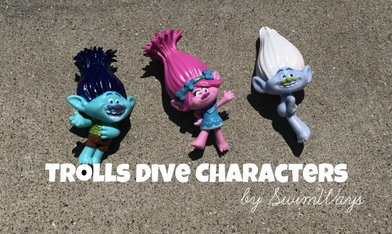 Trolls Dive Characters | Swimways