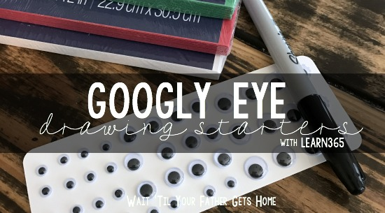 Googly Eye Drawing Starters | Learn365