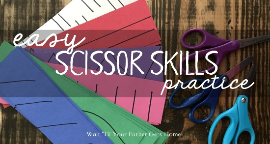 Easy Scissor Practice | Learn365