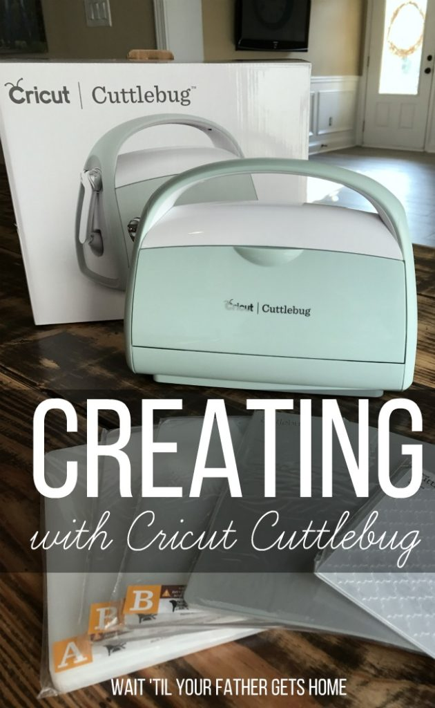 Get creating with the Cricut Cuttlebug for all of your DIY and Home Decor needs! #Cricut #ad #CricutMade #CricutCuttlebug #CricutExploreAir2 #makeitwithCricut