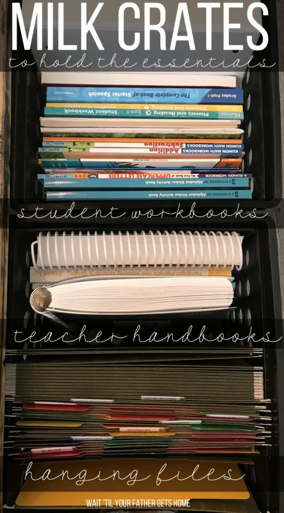 Homeschool Organization and Must Have School Supplies with Learn 365 by Oriental Trading shared by Wait 'til Your Father Gets Home blog #ad #OrientalTrading #Learn365 #homeschool #homeschoolorganization #homeschoolprep #firstgrade #prek #preschool