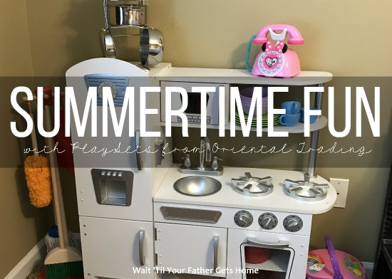 Summertime Fun with Playsets