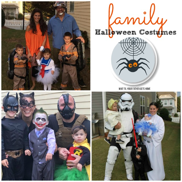 Family Halloween Costume ideas via Wait Til Your Father Gets Home u0026 Oriental Trading #ad  sc 1 st  Wait Til Your Father Gets Home & Family Halloween Costume Ideas - Wait Til Your Father Gets Home