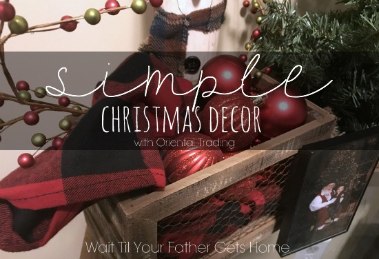 Simple Christmas Decor | Oriental Trading