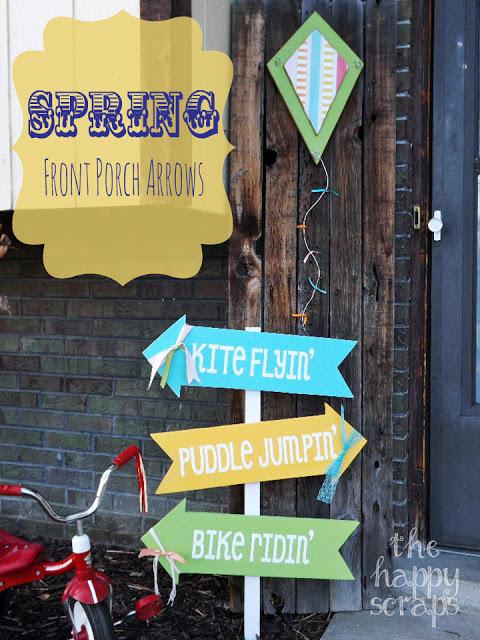 Spring Front Porch Arrows